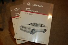 1994 Lexus GS 300 Repair Manuals 1 & 2 GS300 Contents Like NEW FREE shipping