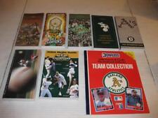 Lot of 7 Oakland Athletics Media Guides 1985 1990 1992 1995 1996 1998 2004 +