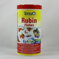 Tetra Rubis Flakes Nourriture 1000ml Complète Pour Intensifs Couleurs 20,99€/ L