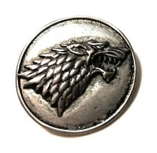 SVR5 GAME OF THRONES STARK SHIELD PIN DIRE WOLF Cosplay collectible gift USA