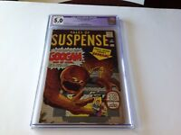 TALES OF SUSPENSE 17 CGC 5.0 GOOGAM SON OF GOOM DITKO KIRBY ATLAS COMIC