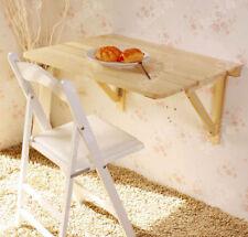 SoBuy® Table murale rabattables,Table de cuisine pliante pour enfant FWT05-N FR