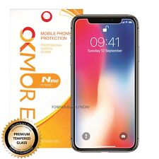 2X Premium Real Tempered Glass Screen Protector Cover Guard for iPhone X