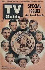 TV GUIDE GOLD MEDAL AWARDS WINNERS - LUCILLE BALL - DEC 19, 1952