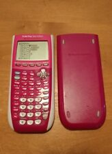 Texas Instruments TI-84 Plus C Silver Edition Rechargeable  Pink NO CHARGER