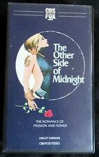 THE OTHER SIDE OF MIDNIGHT, PAL CBS/FOX PRE CERT EX RENTAL V2000 FORMAT! UNCUT!