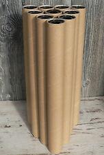 10 Papprollen 50cm stabil Basteln Modellbau Papprohr Röhre Hamster Rolle Pappe