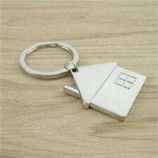 Creative House Home Keyring Alloy Pendant Keyfob Key Bag Chain Wedding Gift