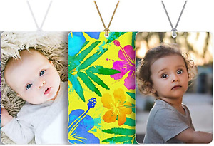 Personalized Custom Air Freshener Photo Picture Logo Scented Christmas Gift Tag