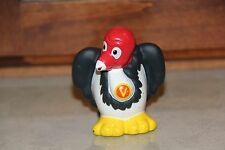 Fisher Price Little People A-Z Learning ABC Zoo replacement Vulture  2004