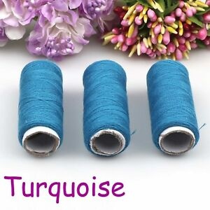 2Pcs 100% Polyester Finest Quality Sewing All Purpose Thread Reel  30 Color
