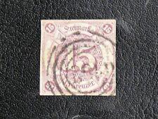 TIMBRES D'ALLEMAGNE : 1859 TOUR ET TAXIS ETATS DU SUD - YVERT N° 40 Obl. CLAIR