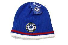 Chelsea Beanie Winter Cap Hat Blue White Red New Season