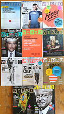 Wired Magazine Lot 2008 Jan Feb March May Jun July Aug Sep Oct Nov Dec 11 issues