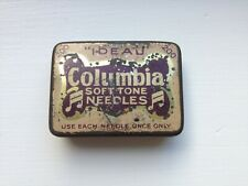 Antique gramophone needle tin box.