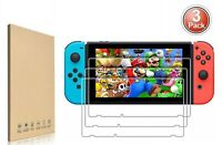 3Pack Premium 9H Tempered Glass Screen Protector Guard For Nintendo Switch