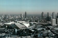 Atlanta Mercedes Benz Stadium & Georgia Dome GA, NFL Falcons Football - Postcard