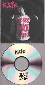 DJ Kaio The Best Fuck The Rest Cd Promo Pochette Papier