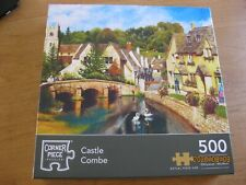 500 piece jigsaw: Castle Coombe COMPLETE