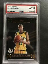 2007-08 Topps Kevin Durant Rookie #112 PSA 6 Mint RC
