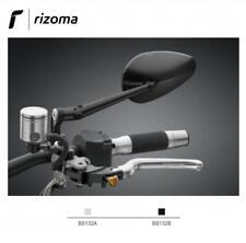 Rizoma Radial RS Specchietto univ retrovisore omo alluminio nero moto carenate