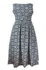 Round Neck Party Paisley Dresses for Women