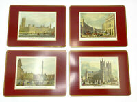 "Pimpernel London Cork Back Placemats Made In England 8.75"" x 11.75"" Set of 4"