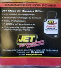 Jet Performance Power-Flo Mass Air Flow Sensor 69195 (Ford/Lincoln)  for sale