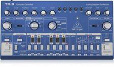 Behringer TD-3-BU Analog Bass Line Synthesizer - Blue
