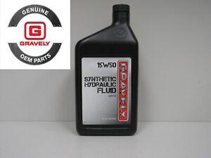 GENUINE OEM Ariens Gravely Hydraulic Fluid / Oil #00057100, 15W50 1 Qt / 32 Oz
