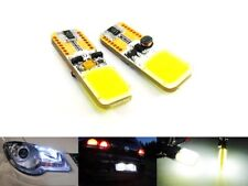 2x COB LED Light HID White 501 T10 194 W5W Bulb REG Number Plate Side Seat Skoda