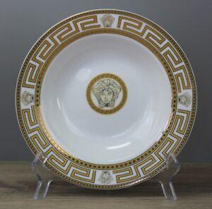 Da Vinci Collection Medusa Gold Suppenteller tiefer Teller Ø ca. 22 cm