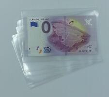 500 ETUIS OU POCHETTES PLASTIQUE POUR BILLETS TOURISTIQUES 0 EURO !