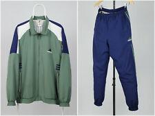 Mens Vintage 90s Adidas Tracksuits Set Casual Jacket + Pants Size D7 / USA L