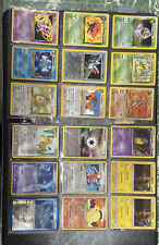 Pokemon Card Collection Base Jungle Fossil Rocket And Others Wotc Holo 200+ Card
