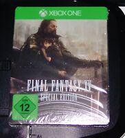 FINAL FANTASY XV SPECIAL EDITION IM STEELBOOK FÜR XBOX ONE NEU & OVP