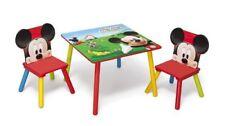 Delta Children Disney - Set tavolo con 2 sedie per Bambini Mickey Mouse (n3n)