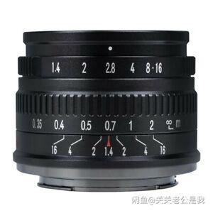 7artisans 35mm F1.4 Manual Focus Lens f/ Nikon Z Sony E Canon M Fujifilm X M4/3