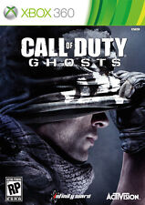 Call of Duty Ghosts Microsoft Xbox 360 Brand New Factory Sealed Free Shipping