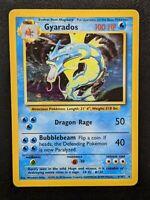 Gyarados 6/102 Rare Holo Original WOTC Base Set Pokemon Card   Good