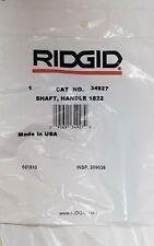 Ridgid Model 1822 I Shaft Handle 34927