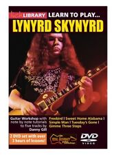LICK LIBRARY LEARN TO PLAY LYNYRD SKYNYRD Sweet Home Alabama Lesson GUITAR DVD