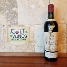 RP 100 pts! Legendary 1945 Chateau Mouton Rothschild Bordeaux wine, Pauillac