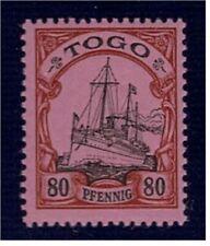 Togo postfrisch Mi.Nr. 15 I BPP Fotoattest Plattenfehler Fleck unter rechter 80