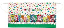 BNWT RARE CATH KIDSTON COTTON HALF APRON MERRY CHRISTMAS TOWNHOUSES Free Giftbag