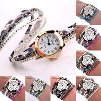 Fashion Women Casual Watch Leather Quartz Luxury Dress Bracelet Wrist Watch Hot