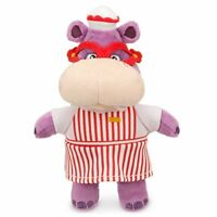 Disney Jr Doc McStuffins Hallie Hippo Bean Bag Plush Doll Figure Stuffed Toy 8""