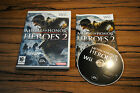 Jeu MEDAL OF HONOR HEROES 2 pour Nintendo Wii PAL COMPLET (CD OK)