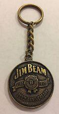 Vintage Jim Bean 1795-1995 200th Anniversary Keychain metal