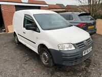 VOLKSWAGEN CADDY 1.9 TDI SPARES OR REPAIRS